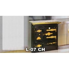 Cocina L-07 CH de leña Hergom