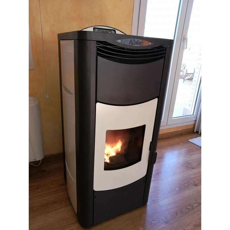 De pellets para radiadores cool finest com anuncios de estufas pellets radiadores estufas - Estufa pellets bricomart ...