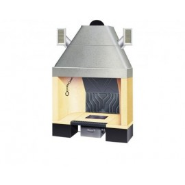 Hogar Ventilpalex 96 Refractario Palazzetti