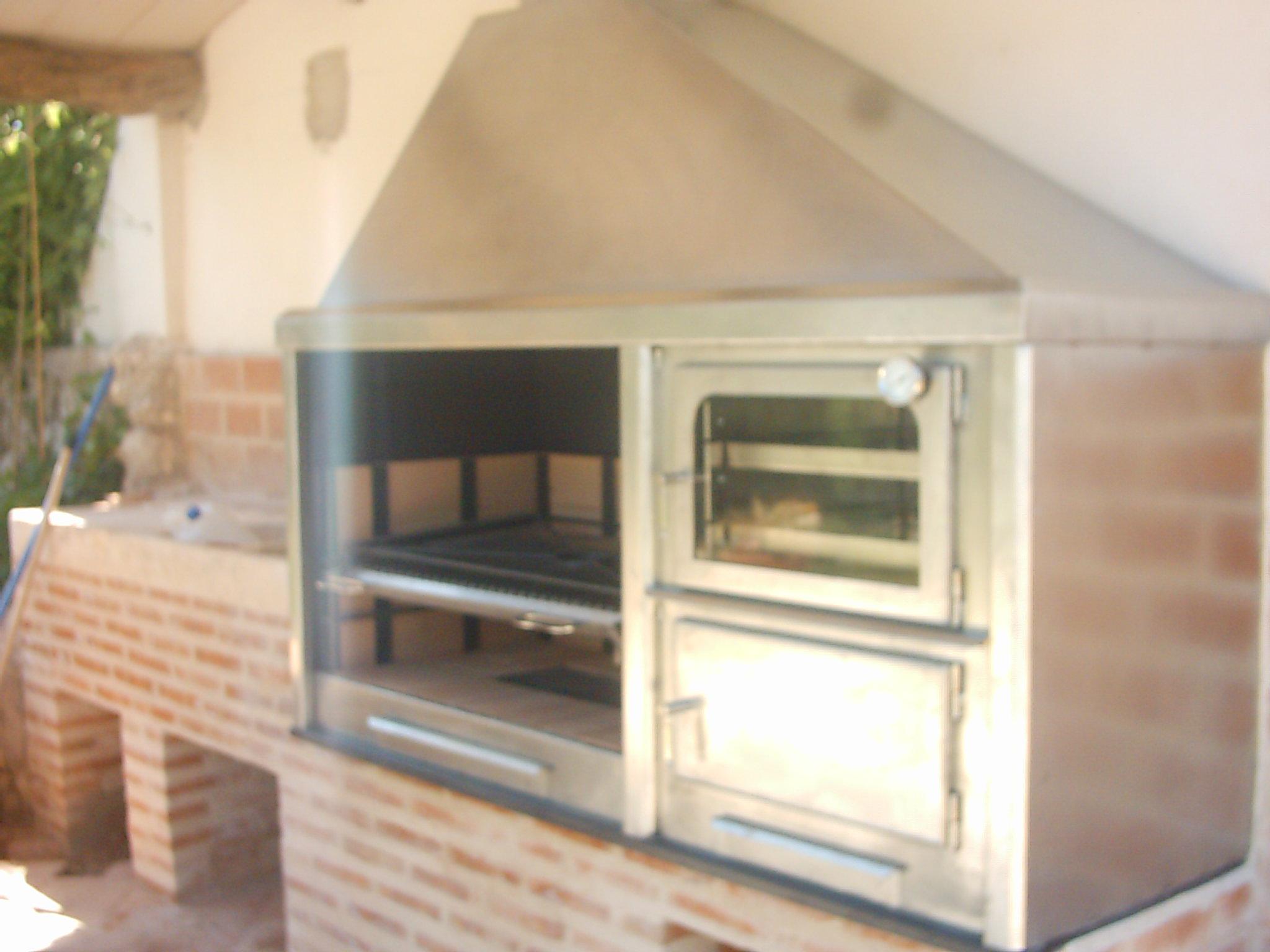 Barbacoas y hornos ecospain mediterranea ingenieria del confort - Horno de lena y barbacoa ...