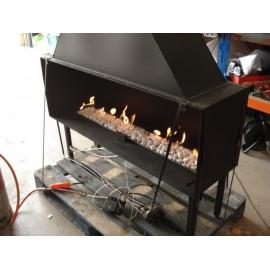 Quemador simulador de gas