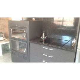 INSERTABLE CON HORNO E INTERIOR EN FUNDICION
