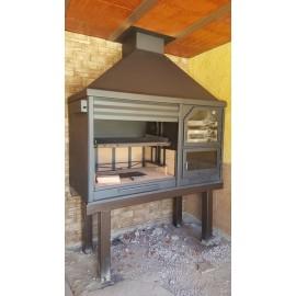 Barbacoas instaladas ecospain mediterranea ingenieria del confort - Barbacoa paellero ...