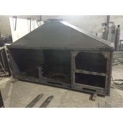 modulos paellero-horno