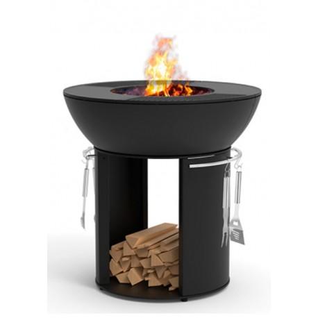 Barbacoa firepit en hierro fundido