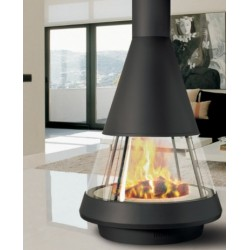 chimenea metalica central mod Mallorca